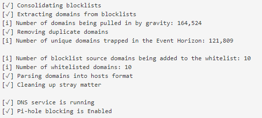 Pi-hole - Blackhole and Sinkhole Host and Domains